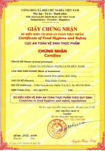 Hồ sơ cấp giấy phép cơ sở đủ điều kiện tại Nghệ An