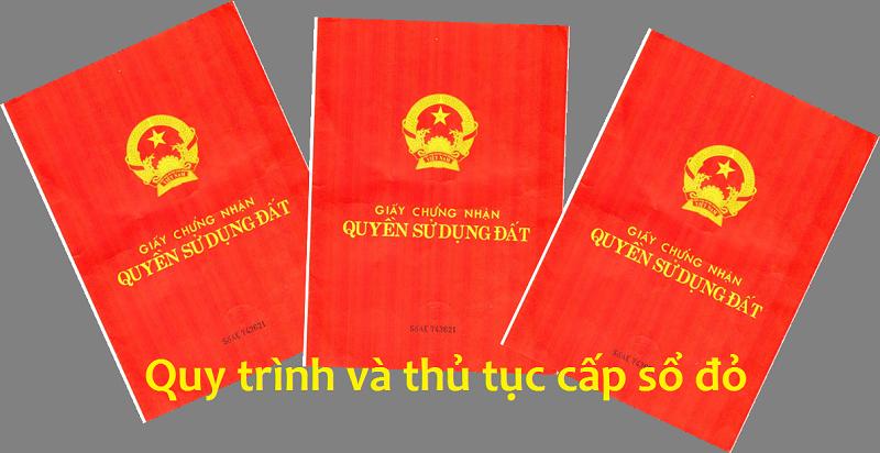 Thủ tục làm lại sổ đỏ bị mất tại Nghệ An.