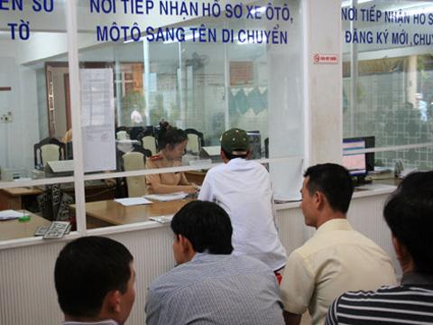 Thủ tục sang tên xe trong cùng tỉnh tại Nghệ An