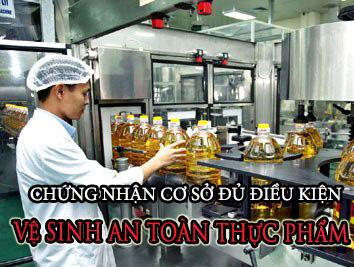Thủ tục xin cấp giấy phép vệ sinh an toàn thực phẩm tại Nghệ An
