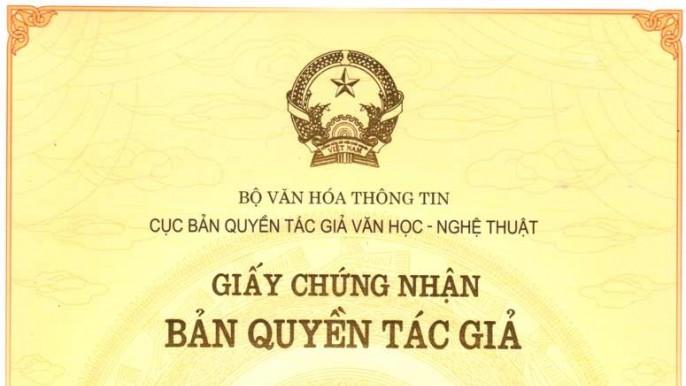 Thủ tục cấp văn bằng bảo hộ quyền tác giả tại Nghệ An
