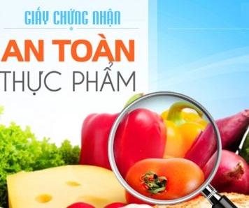 Dịch vụ xin giấy chứng nhận đủ điều kiện vệ sinh an toàn thực phẩm tại Nghệ An