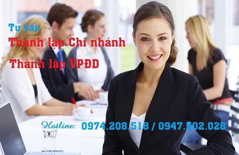 Thành lập chi nhánh công ty khác tỉnh tại Nghệ An