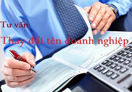 Hướng dẫn thay đổi tên doanh nghiệp năm 2018 tại Nghệ An