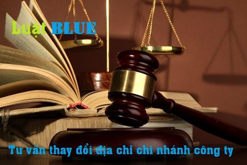 Thủ tục thay đổi địa chỉ chi nhánh công ty tại Nghệ An