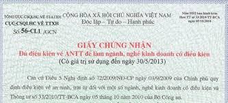 Điều kiện khi xin giấy phép an ninh trật tự cho khách sạn
