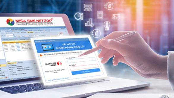 Ngân hàng rầm rộ bắt tay công nghệ, doanh nghiệp hưởng lợi