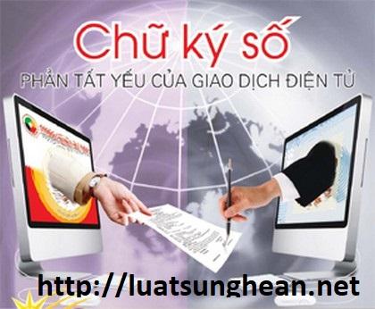 Điều kiện kinh doanh dịch vụ chứng thực chữ ký số tại Nghệ An