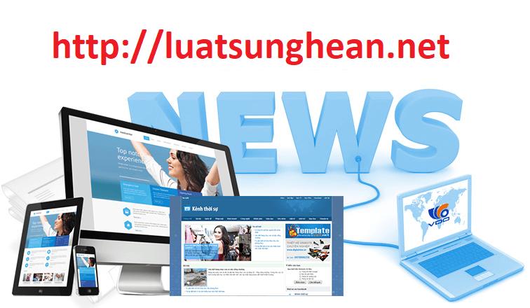 Thủ tục xin giấy phép báo điện tử tại Nghệ An